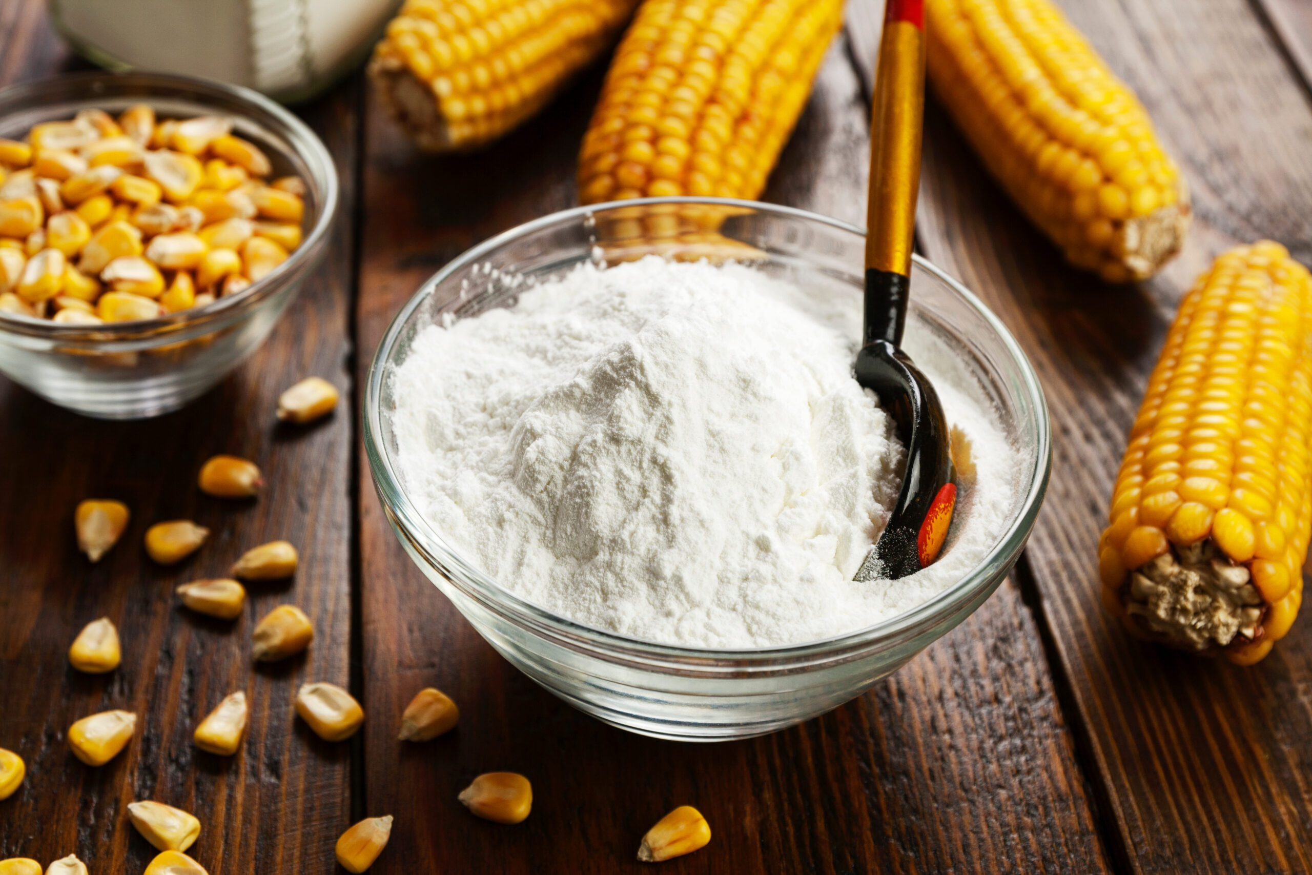 where to find starch in a grocerystore