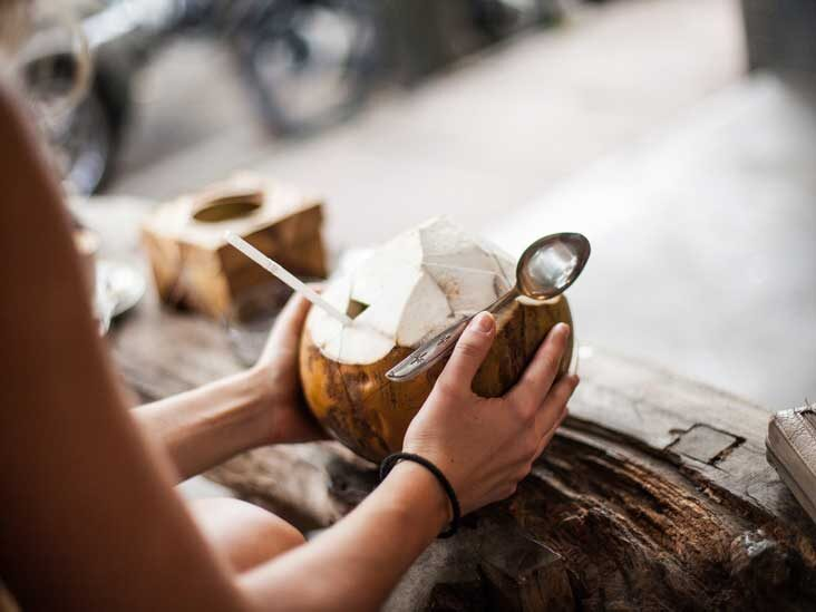 Where to find Coconut water in a Grocery Store