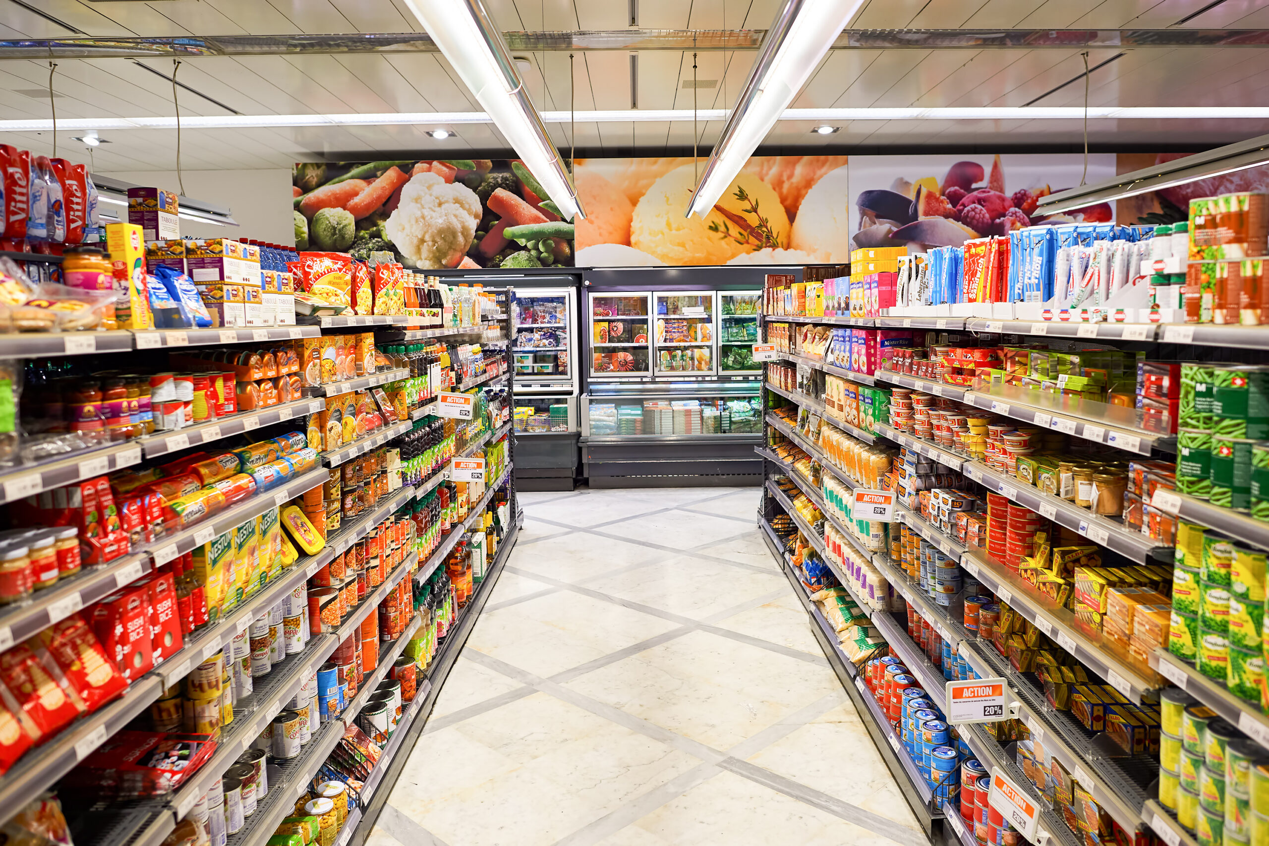 What Are the Different Sections of a Grocery Store