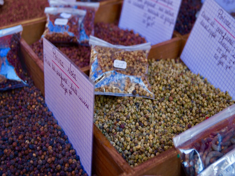 Where to buy peppercorns in the grocery store