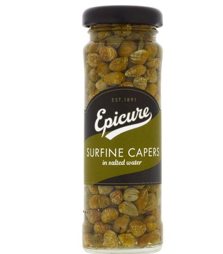 Epicure Surfinecapers in a jar