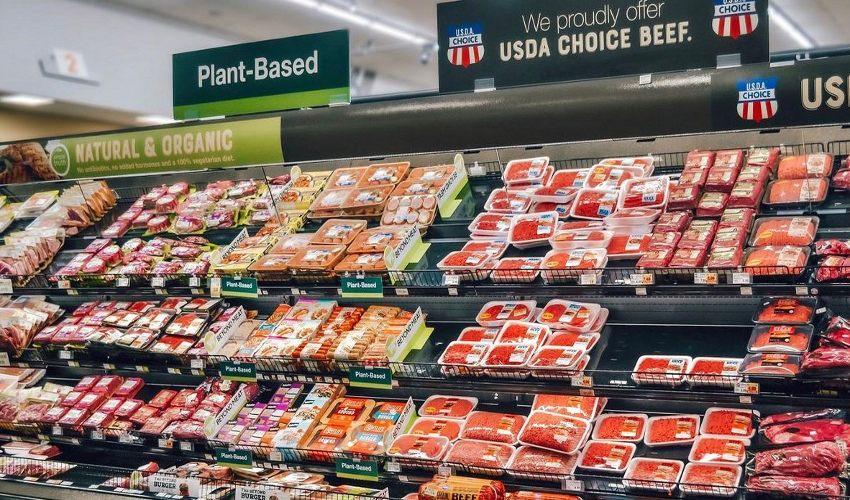Kroger meat aisle