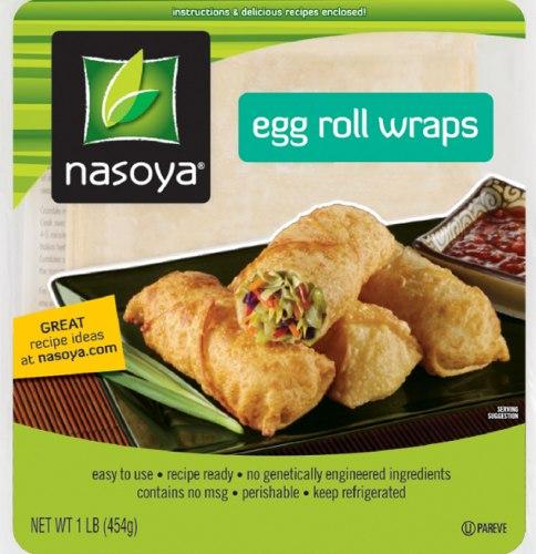 Nasoya egg roll wraps product