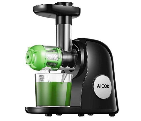 Aicok juicer machine product on Amazon