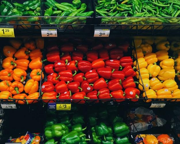 Kroger fresh produce aisle