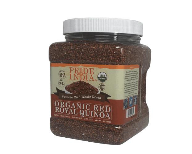 Pride of India organic royal red Bolivian quinoa product