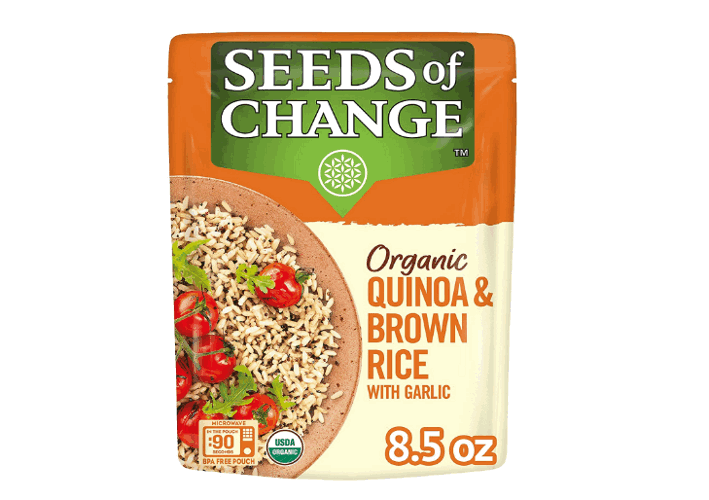 Seeds of Change organic quinoa product