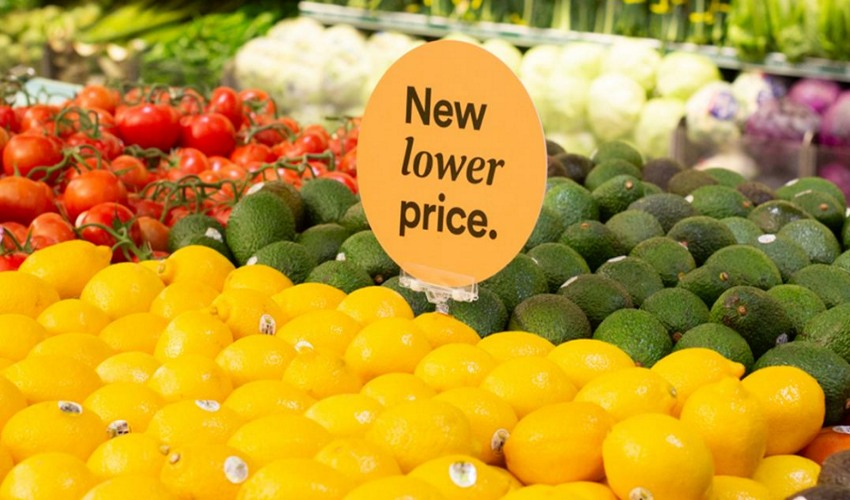Whole Foods New lower price sign