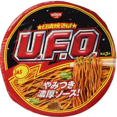 Nissin UFO yakisoba noodles product