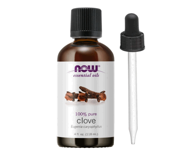 Now Foods essential clove oil product