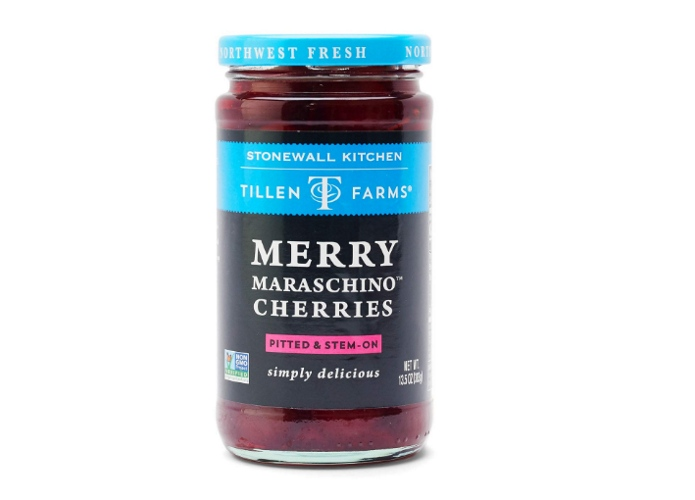 Tillen Farms Merry maraschino cherries product