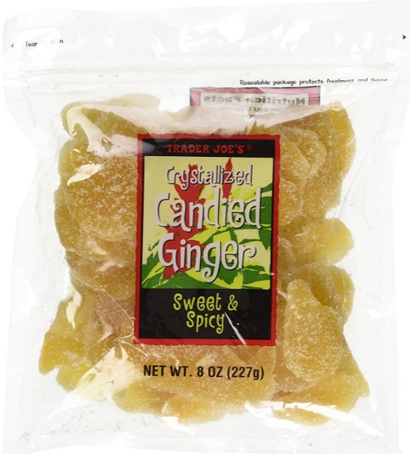 Trader Joe's crystallized candied ginger product