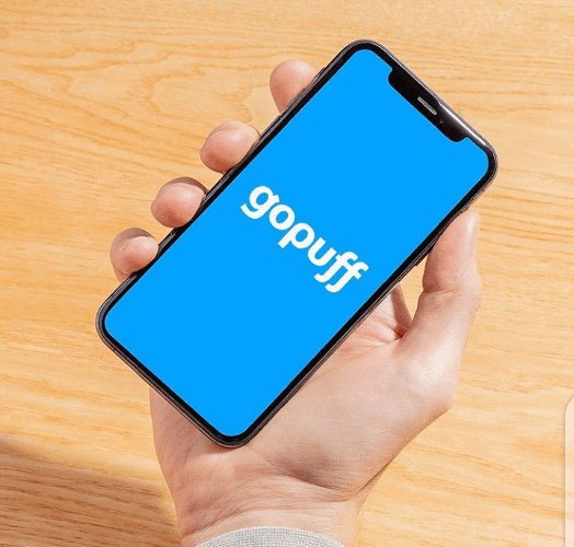 GoPuff food delivery service