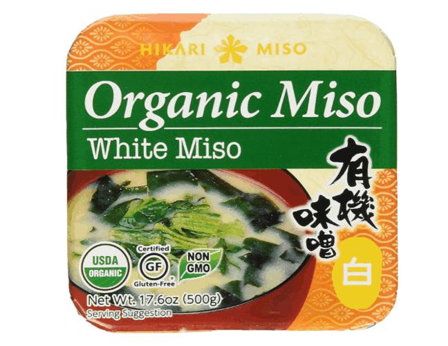 Hikari organic miso paste product