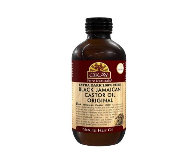OKAY extra dark castor oil product