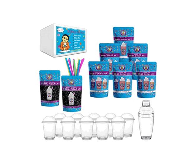 Buddha Bubbles Boba tea kit product