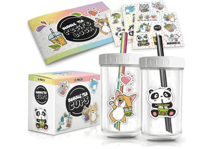 Grand Basics bubble tea set product